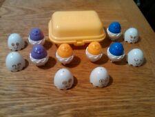 Rare Blue Vintage Tomy Hide and Squeak Shape sorter egg box 1993