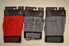 Lot of 3 Nike Air Jordan Briefs DRI-FIT Small (29-32) Mens Boxers Red & Grey