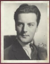 "Dennis King, Actor, Singer, Vintage 5"" x 7"" Studio Card, Facsimile Signature"