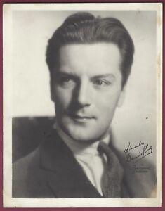 "Dennis King, Actor, Singer, Vintage 5"" x 7"" Studio Card, Facsimile Signature"