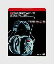 3M WorkTunes Wireless Hearing Protector with Bluetooth Technology and AM/FM D...