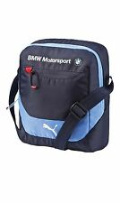 NWT PUMA OFFICIAL BMW MOTORSPORT PORTABLE SIDE SHOULDER MESSENGER BAG