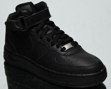 Nike Air Force 1 Mid GS Older Kids' Black Athletic Casual Lifestyle Sneaker Shoe