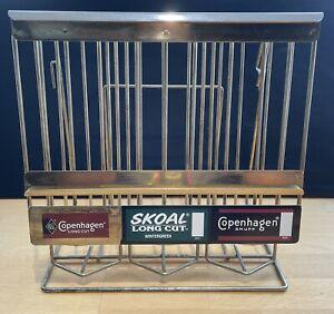 Copenhagen / Skoal Snuff can / tin dispenser / display - Vintage Chewing Tobacco