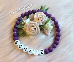 Armband ❤️ Perlenarmband ❤️ personalisiert ❤️ Damen und Herren ❤️