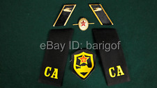Soviet Military Tank troops Shoulder Boards Collar Tabs bange