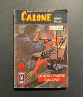 Calone n°1. Quand passe Calone. Comics pocket. Aredit 1974. BE