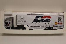 Mercedes Renntransporter DTM 1:43 AMG Race Car Transporter Camion Surber Truck