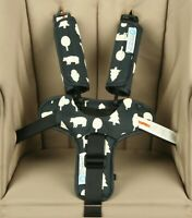 Keep Me Cosy Pram Harness & Buckle Cosy (patented) - Woodland Friends