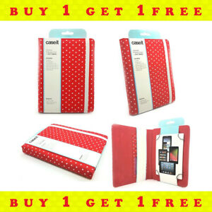 "CaseIt 6"" To 10"" Tablet Case Cover For iPad Galaxy Tab Nexus Buy 1 Get 1 Free"