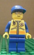 LEGO MINIFIGURE – TOWN CITY – COAST GUARD – PATROLLER 3 - USED