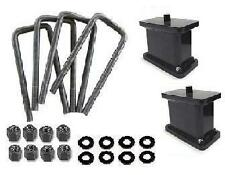 "01-2010 Chevy GMC Sierra Silverado 2500HD 4"" Rear Lift Block Kit"