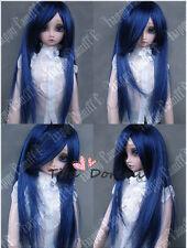 1 3 8-9 Bjd Wig Dal Pullip BJD SD DZ DOD LUTS Dollfie Doll wigs black blue  E16