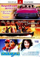 Triple Feature Indian Summer Heartbreak Hotel Aspen Extreme DVD, 2011 2-Disc Set