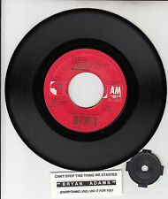 "BRYAN ADAMS  Can't Stop This Thing & (Everything I Do) I Do It For You 7"" 45 NEW"