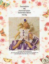 "#46 Crochet Pattern KR05 for Kish Riley 7 1/2"" Dolls"