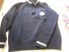 mens River Woods jumper size Large. American Brand colour Blue