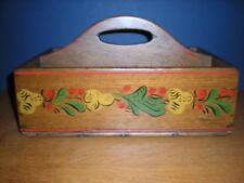 Antique Walnut Knife Tray 18th C
