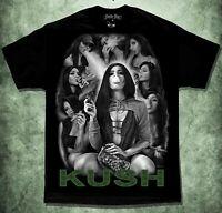 Kush 420 Smoke Shop Lowrider Chicano Art David Gonzales T Shirt