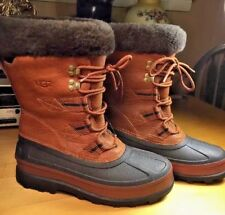 Ugg Women's Brandy Captain Boots Size 7 Style 3259 Leather and Rubber