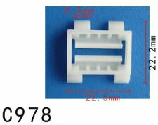 5PCS Fit Mercedes Benz 001-988-50-81 Nylon Moulding Clip 22.5x23mm