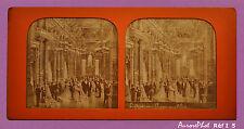 VUE STÉRÉO POLYRAMIQUE JOUR/NUIT, PARIS, FOYER PUBLIC DE L'OPÉRA VERS 1885 -I 5
