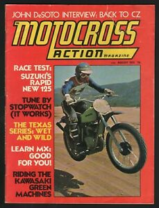 1973 August Motocross Action - Vol. 1 No. 2 - Vintage Motorcycle Magazine