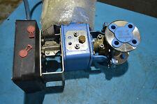 Jamesbury 1 '' valve with actuator QP1C/M Quadra-Powr II  and PMV positioner