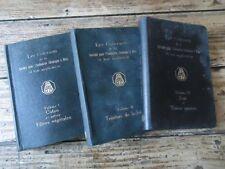 TEXTILE -3VOL COLORANTS DE LA SOCIETE POUR INDUSTRIE CHIMIQUE A BALE SUISSE 1933
