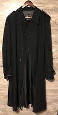 Vintage Christian Dior Mens Trench Rain Coat 44L