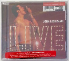 JOHN LEGUIZAMO: Live [CD] Summer 2001 Tour, NEW, Comedy CD-ROM Games, Bonus [PA]