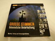 Grosse Stimmen - Unheimliche Unterhaltung Mystery, Fantasy & Schauergeschichten