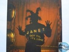 JANET JACKSON GOT 'TIL IT'S GONE CD PROMO 5T card slv
