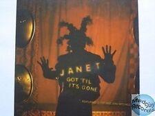JANET JACKSON GOT 'TIL IT'S GONE CD PROMO 5T card slv