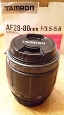 Tamron af28-80 mm f/3.5-5.6 Aspherical Nikon AF. D Compatibel