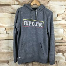 ripcurl mens medium hoodie sweatshirt blue and white B16