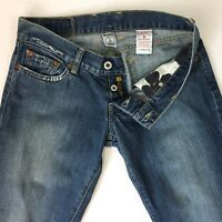 """Lucky Brand Jeans Women's Button Fly Bootcut Jeans Medium Wash Size 4 Length 33"""""""