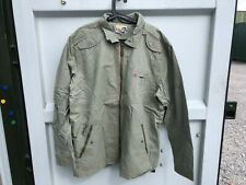 Quiksilver Mens Cotton Jacket Coat - Light Green - XXL