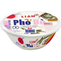 Lian Pho Bo Beef Flavour Vietnamese Style Instant Rice Noodles 70 gram / Bowl