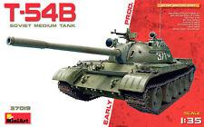 Miniart 1/35 T-54B tanque medio Soviética producción temprana # 37019