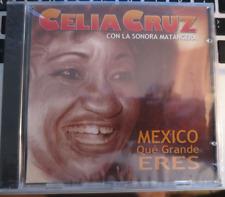 Celia Cruz con Sonora Matancera - Mexico, Que Grande Eres CD New! FREE SHIPPING!