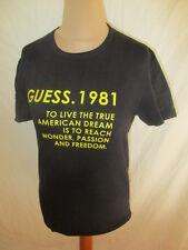 T-shirt Guess Noir Taille 40 à - 53%