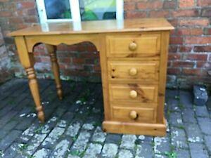 Lovely Solid Pine Dressing Table / Desk