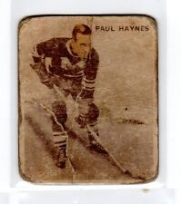 1X PAUL HAYNES 1933 34 World Wide Gum #6 RC Rookie V357 ICE KINGS FR