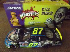 KYLE BUSCH #87 Ditech.com Monsters 1/24 2003 Monte Carlo Platinum Series Bank
