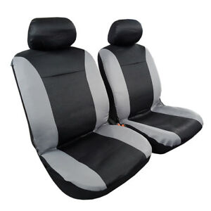 Snake Jacquard 2pcs Front Universal Size Car Seat Covers For Holden Subaru Mazda