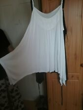 White lace panel top size 24
