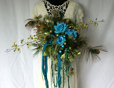 Mardi Gras Silk Wedding Bouquet