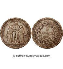 HERCULE - 5 FRANCS ARGENT 1871 A PARIS