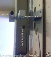 Garage Door Roll-Up Steel Tube Sensor Security Alarm Overhead Contact fits Vista